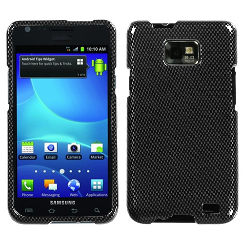 MyBat Protector Cover for Samsung I777 (Galaxy S II) - Carbon Fiber