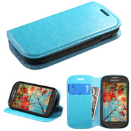 MyBat MyJacket Wallet Element Series for Samsung T399 (Galaxy Light) - Blue