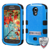 MyBat TUFF Hybrid Protector Cover (with Stand)[Military-Grade Certified] for Samsung T399 (Galaxy Light) - Natural Dark Blue / Black