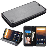 MyBat MyJacket Wallet Element Series for Zte N9560 Max XL - Black