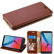 MyBat MyJacket Wallet Element Series for Zte Sequoia - Brown