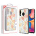MyBat Fusion Protector Cover for Samsung Galaxy A20 - Electroplated Pink Marbling