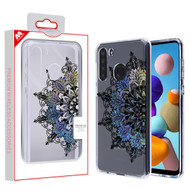 MyBat Fusion Protector Cover for Samsung Galaxy A21 - Transparent Classical Hot Color