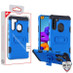MyBat Storm Tank Hybrid Protector Cover [Military-Grade Certified] for Samsung Galaxy A21 - Blue / Black