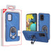 MyBat Hybrid Protector Cover (with Ring Holder Kickstand Bottle) for Samsung Galaxy A51 5G - Ink Blue / Black
