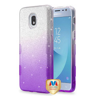 MyBat Full Glitter TUFF Hybrid Protector Cover for Samsung J337 (Galaxy J3 (2018)) - Purple Gradient