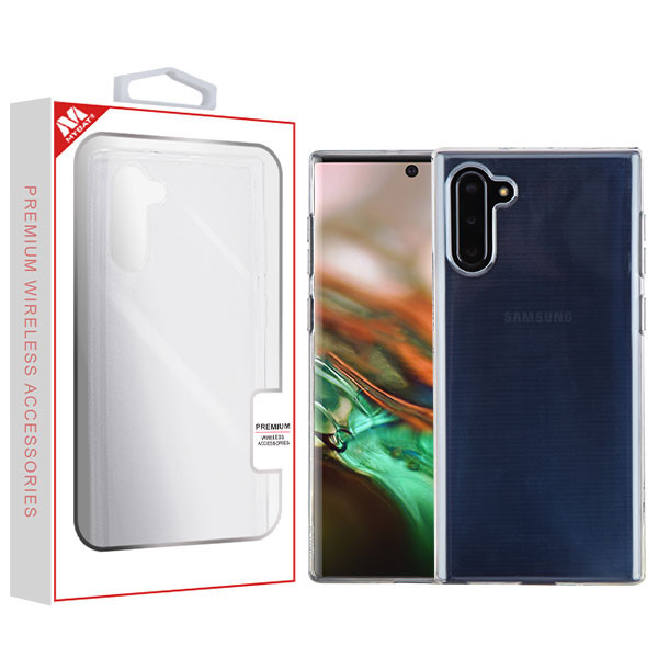 MyBat Candy Skin Cover for Samsung Galaxy Note 10 (6.3) - Glossy Transparent Clear