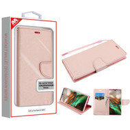 MyBat Liner MyJacket Wallet Crossgrain Series for Samsung Galaxy Note 10 (6.3) - Rose Gold Pattern / Rose Gold