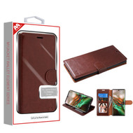 MyBat MyJacket Wallet Element Series for Samsung Galaxy Note 10 (6.3) - Brown