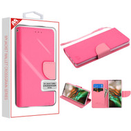 MyBat Liner MyJacket Wallet Crossgrain Series for Samsung Galaxy Note 10 (6.3) - Hot Pink Pattern / Pink