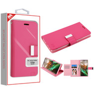 MyBat MyJacket Wallet Xtra Series for Samsung Galaxy Note 10 (6.3) - Hot Pink / Pink