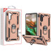 MyBat Anti-Drop Hybrid Protector Cover (with Ring Stand) for Samsung Galaxy Note 10 (6.3) - Rose Gold / Black
