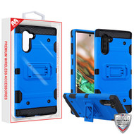 MyBat Storm Tank Hybrid Protector Cover [Military-Grade Certified] for Samsung Galaxy Note 10 (6.3) - Blue / Black