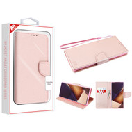 MyBat Liner MyJacket Wallet Crossgrain Series for Samsung Galaxy Note 20 Ultra - Rose Gold Pattern / Rose Gold