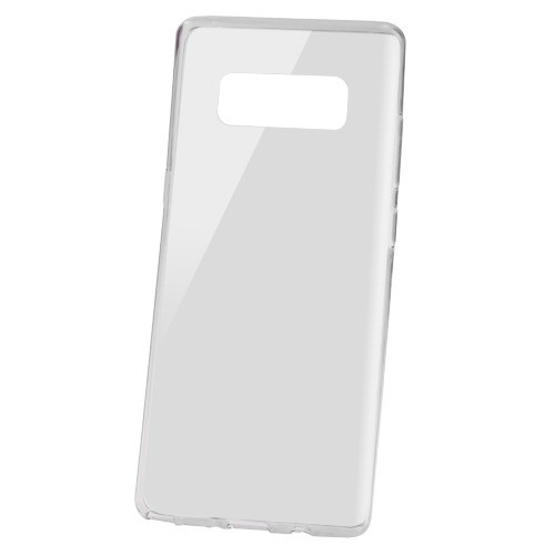 MyBat Candy Skin Cover for Samsung Galaxy Note 8 - Glossy Transparent Smoke
