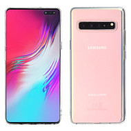 MyBat Candy Skin Cover for Samsung Galaxy S10 5G - Glossy Transparent Clear