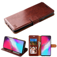 MyBat MyJacket Wallet Element Series for Samsung Galaxy S10 5G - Brown