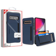 MyBat Poket Hybrid Protector Cover (with Back Film) for Samsung Galaxy S10 5G - Ink Blue / Black