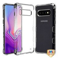 MyBat TUFF Klarity Lux Candy Skin Cover for Samsung Galaxy S10 - Silver Plating