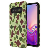 MyBat Fuse Hybrid Protector Cover for Samsung Galaxy S10 - Duck Camo / Black