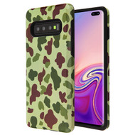 MyBat Fuse Hybrid Protector Cover for Samsung Galaxy S10 plus - Duck Camo / Black