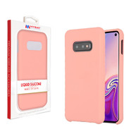 MyBat Liquid Silicone Protector Cover for Samsung Galaxy S10E - Pink
