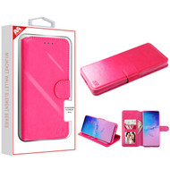 MyBat MyJacket Wallet Element Series for Samsung Galaxy S20 Ultra (6.9) - Hot Pink