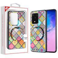 MyBat Mirror Hybrid Case for Samsung Galaxy S20 Ultra (6.9) - Mediterranean