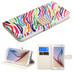 MyBat MyJacket Wallet (with Diamante Belt) for Samsung G920 (Galaxy S6) - Colorful Zebra