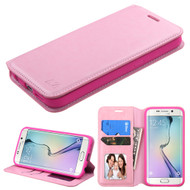 MyBat MyJacket Wallet Element Series for Samsung G925 (Galaxy S6 Edge) - Pink