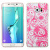 MyBat Clover Candy Skin Cover for Samsung Galaxy S6 edge Plus - Hot Pink four-leaf