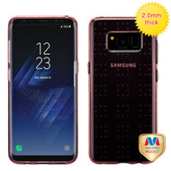 MyBat SPOTS Candy Skin Cover for Samsung Galaxy S8 Plus - Glassy Transparent Rose Gold