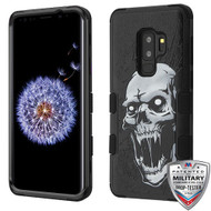 MyBat TUFF Hybrid Protector Cover [Military-Grade Certified] for Samsung Galaxy S9 Plus - Vampire / Black