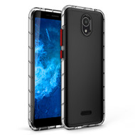 ZIZO SURGE Series for Cricket Icon 2 Case - Sleek Clear Case Customizable Buttons - Clear SUR-CKIC2-CL