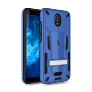 ZIZO TRANSFORM Series for Cricket Icon 2 Case - Rugged Dual-layer Protection with Kickstand - Blue TFM-CKIC2-BLBK
