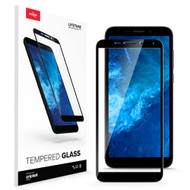 ZIZO TEMPERED GLASS Screen Protector for Cricket Icon 2 Full Glue Clear Screen Protector with Anti Scratch and 9H Hardness - Black GLSHD-CKIC2-BLK