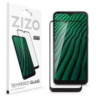 ZIZO TEMPERED GLASS Screen Protector for Cricket Influence Full Glue Clear Screen Protector with Anti Scratch and 9H Hardness - Black GLSHD-CKINF-BLK