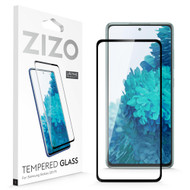ZIZO TEMPERED GLASS Screen Protector for Galaxy S20 FE Full Glue Clear Screen Protector with Anti Scratch and 9H Hardness - Black GLSHD-SAMGS20FE-BLK