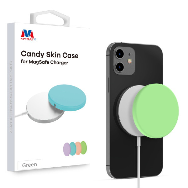MyBat Candy Skin Cover for Apple MagSafe Charger - Green