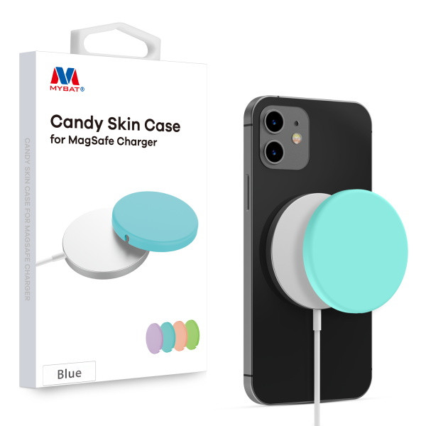 MyBat Candy Skin Cover for Apple MagSafe Charger - Blue