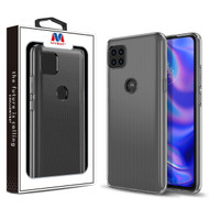 MyBat Candy Skin Cover for Motorola one 5G ace - Glossy Transparent Clear
