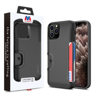 MyBat Slide Series Hybrid Case for Apple iPhone 11 Pro Max - Black