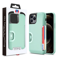 MyBat Slide Series Hybrid Case for Apple iPhone 12 Pro Max (6.7) - Green