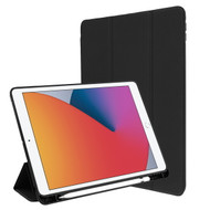 MyBat Slim Fit Smart MyJacket with Trifold Stand for Apple iPad 10.2 (2019) (A2197, A2200, A2198) / iPad 10.2 (2020) - Black
