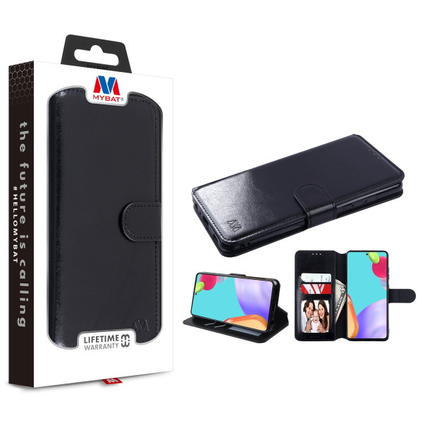 MyBat MyJacket Wallet Element Series for Samsung Galaxy A52 5G - Black