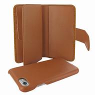 Piel Frama 764 Tan Karabu WalletMagnum Leather Case for Apple iPhone 7