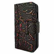 Piel Frama 764 Black Nspire WalletMagnum Leather Case for Apple iPhone 7 / 8