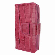 Piel Frama 764 Pink Crocodile WalletMagnum Leather Case for Apple iPhone 7 / 8