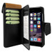 Piel Frama 769 Black Karabu WalletMagnum Leather Case for Apple iPhone 7 Plus / 8 Plus