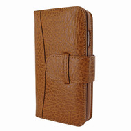Piel Frama 769 Tan Karabu WalletMagnum Leather Case for Apple iPhone 7 Plus / 8 Plus